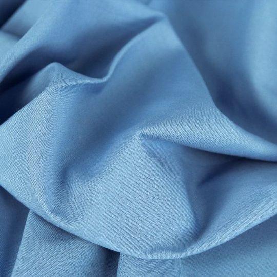 Baumwollstoff himmelblau