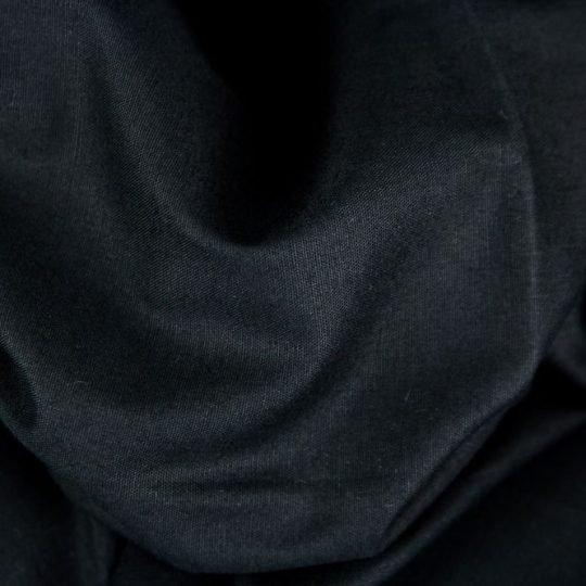 Baumwollstoff schwarz