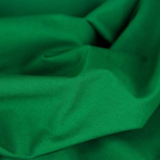 Baumwollstoff grasgrün