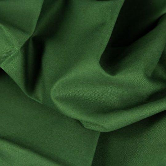 Baumwollstoff dunkelgrün