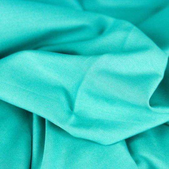 Baumwollstoff smaragd